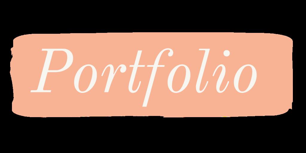 Text reads: Portfolio